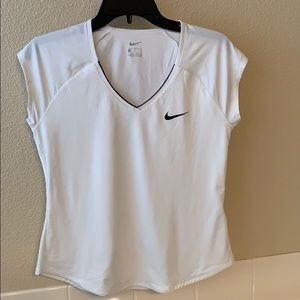 White Nike tennis tee, size medium